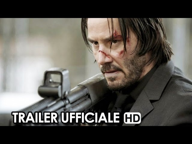 John Wick Trailer Ufficiale #2 V.O. (2015) - Keanu Reeves Movie HD