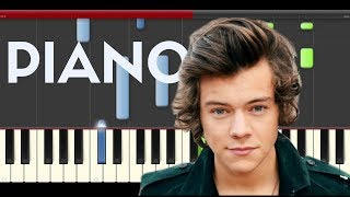 download lagu Harry Styles Woman Piano Midi Tutorial Sheet App Cover gratis