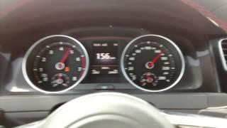VW Golf GTI MK7 0-200 Km/h Stock