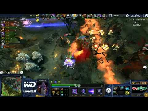Na`Vi vs Liquid - Game 2 (WePlay.TV - Playoffs) [EPIC] [WOW]