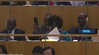 Sénégal, Le président Macky Sall et l'atteinte des OMD