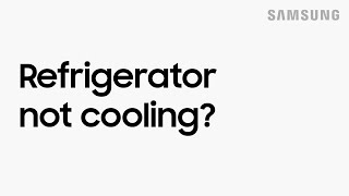 What to do if your refrigerator is not cooling | Samsung US