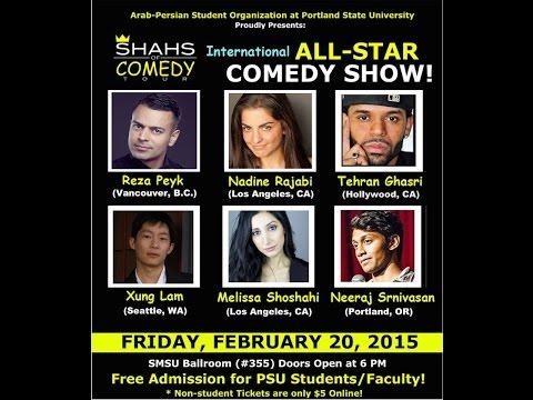 Tehran Ghasri (stand up comedy) Portland - Feb 2015