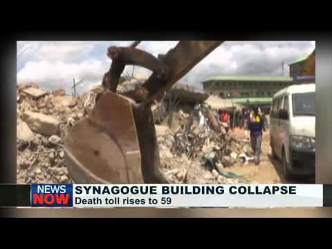 Death toll of Synagogue building collapse now 59