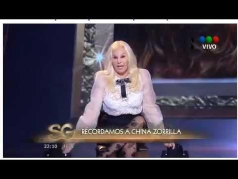 Homenaje de Susana Gimenez a China Zorrila