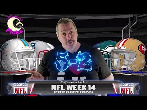 NFL Week 14 ATS Picks for the 2017-2018 Football Season
