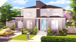 The Sims 4: Speed Build | Modern Suburban (CC Free)