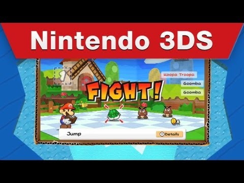 Nintendo 3DS &#8211; Paper Mario: Sticker Star Game Trailer