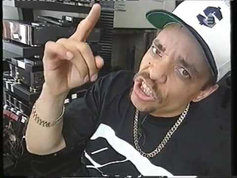 Ice T - Dutch TV Hip Hop Doc (1993)