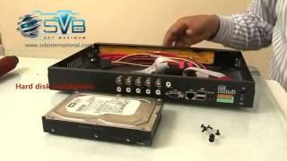 How to install CCTV Cameras, DVR setup, mobile view, remote view etc