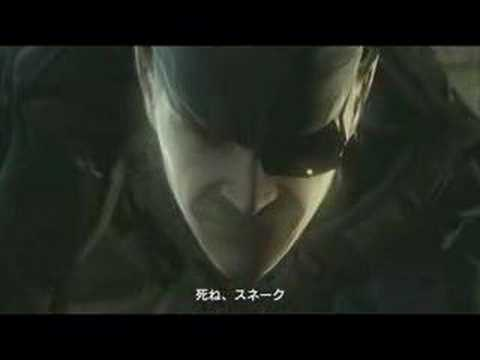 Metal Gear Solid 4 theatrical Trailer 2008 Extra video
