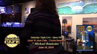 Michael Boukedes  without Kurt Nall @ Juice 'N Java Open Mic 6.16.18
