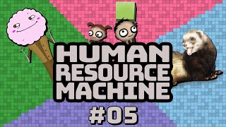 Human Resource Machine with Mallow Part 5 — BACTOR — Yahweasel