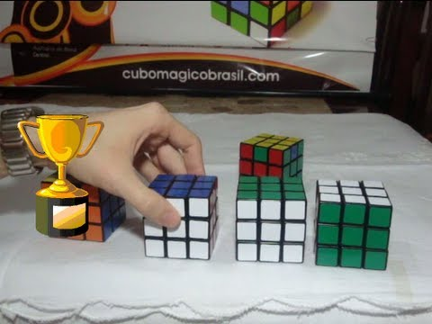 Como montar/resolver o Cubo Mágico - 7º e último passo