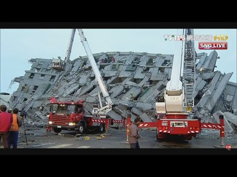 6.4 magnitude earthquake hits Taiwan