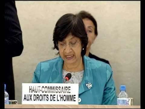 WORLDMAGNUM:  LIBYA, MIDDLE EAST - END HUMAN RIGHTS VIOLATIONS - UN's NAVI PILLAY