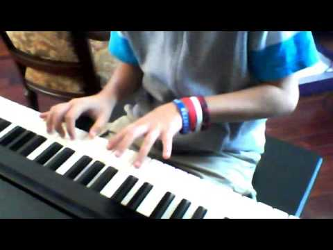 How To Play Red Vs Blue Theme Song On The Piano Tutorial video
