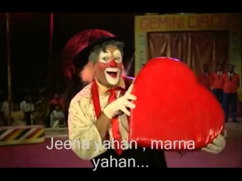 jeena yahan  marna yahan.... with karaoke..