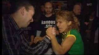 Strong armwrestling girls 2!