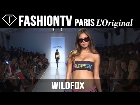 Wildfox Swimwear Show | Miami Swim Fashion Week Summer 2015 | Bikini Models | Fashiontv video