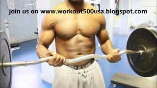 Gain Muscle Mass in 2 months Workout500