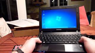 Samsung N350 Netbook Unboxing