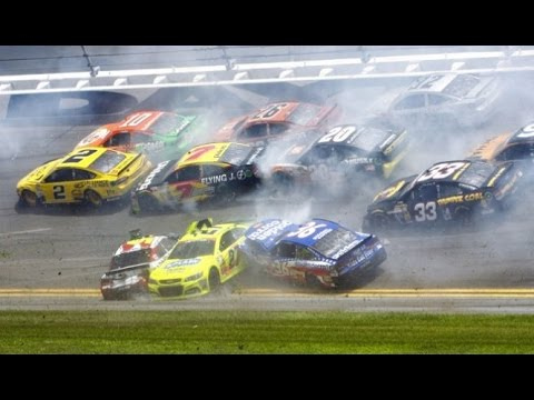 2014 Coke Zero 400- The Big One #2/Kyle Busch Flip HD (EXTENDED)
