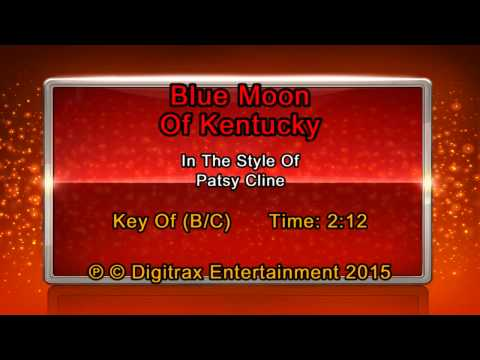Patsy Cline - Blue Moon Of Kentucky (Backing Track)