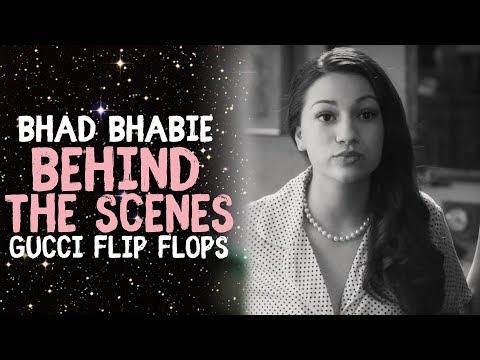 "BHAD BHABIE ""Gucci Flip Flops"" Behind The Scenes | Danielle Bregoli thumbnail"