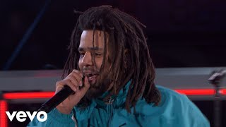 J Cole Middle Child 2019 Nba All Star Halftime Performance