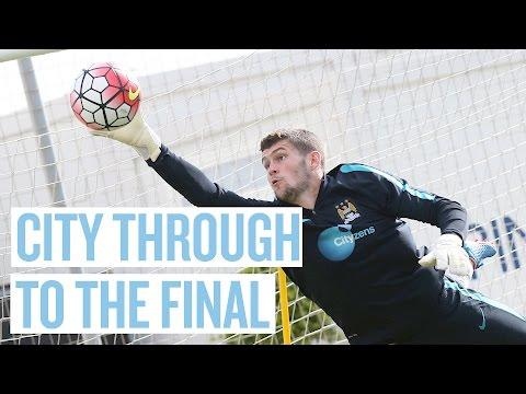 SHOOTOUT HEROICS   Bolton v City   Manchester Senior Cup   Match Highlights