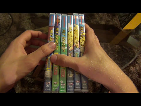 Hey Arnold! The Complete Series 16-Disc DVD Set Unboxing and Comparison to Individual Releases
