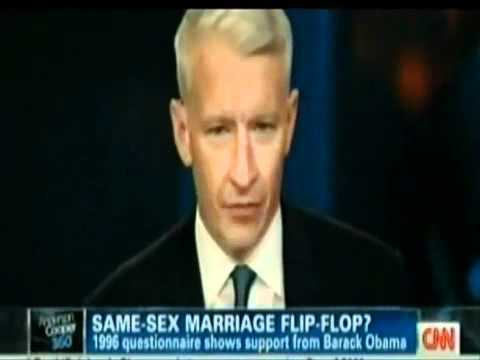 Straight-Talker Newt Gingrich vs Flip-Flopper Obama on Gay Marriage