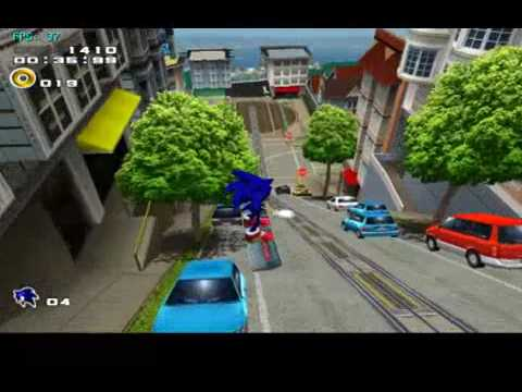 Sonic Adventure 2 Battle (GC) on Dolphin Wii/GC Emulator