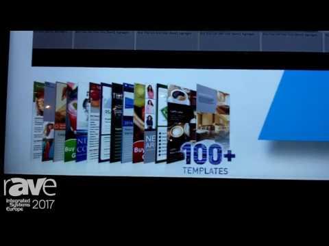 ISE 2017: BenQ Talks About ST550K Digital Signage Display with X-SignDesigner