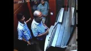 ATM Fraud caught on CCTV in Mumbai - Unseen Footage