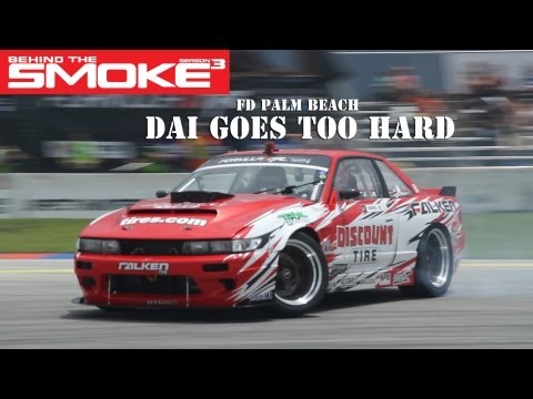 Formula Drift Round 3 - West Palm Beach - Dai Goes Too Hard - Behind The Smoke Season 3 - Ep 11