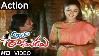 Allari Ramudu Movie Scenes | Sentiment Scene Between Gajala & Arthi Agarwal