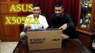 LAPTOP MURAH MERIAH | UNBOXING LAPTOP ASUS X505ZA