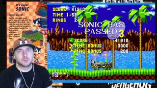 Ретро-летсплей: Sonic The Hedgehog