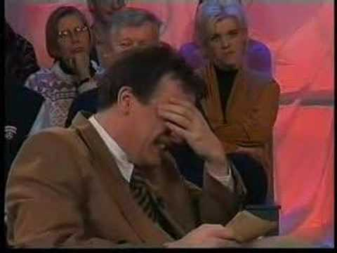 Rude TV-host can't stop laughing at his disabled guests!