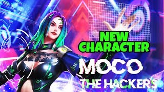 "New Character ""Moco"" The Hackers Eye - Garena Free Fire"