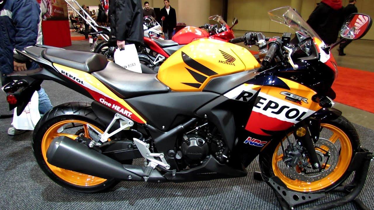2013 honda cbr250r repsol   walkaround   2012 toronto motorcycle show