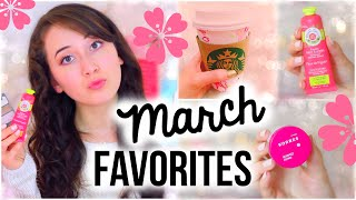 March Favorites: Makeup, Skincare, Fashion & Starbucks!