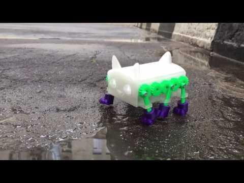 3D моделирование  Шагающий робот