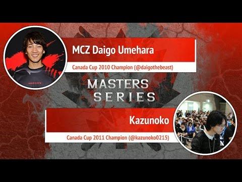USFIV: Kazunoko vs MCZ Daigo Umehara - Canada Cup Master Series
