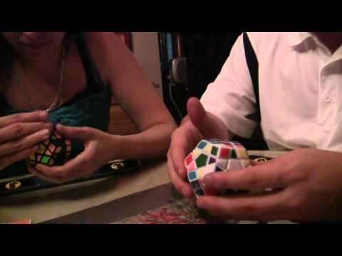 Watch 6:21.68 PB megaminx solve