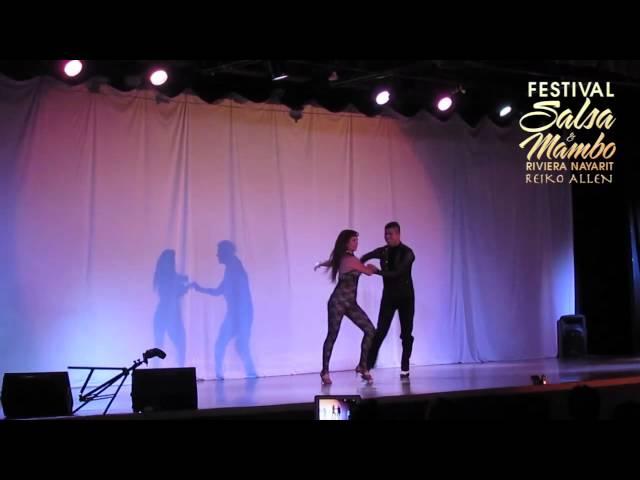 Vladimir & Cindi - Saturday/Sábado | Riviera Nayarit Salsa & Mambo Festival 2013