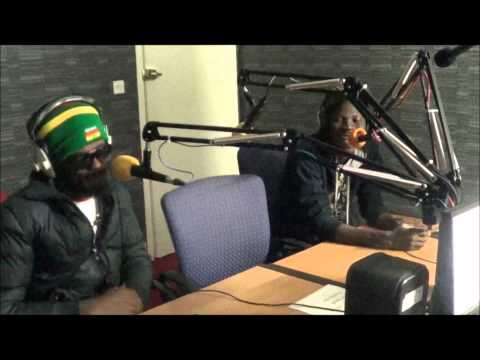 IWAN and Stonebwoy with Deoba Authentic at Voice of Africa Radio (pt2)