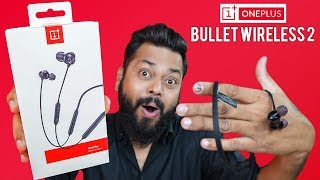 OnePlus Bullets Wireless 2 Earphones Unboxing & Quick Review ⚡